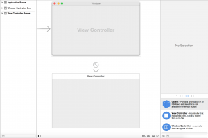 Xcode Storyboard (objective-c tutorial)