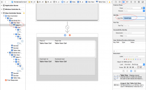 Adding table views to the storyboard (objective-c tutorial)