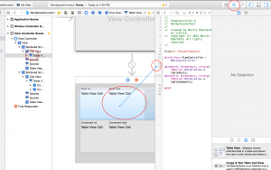 Connect the storyboard with ViewController variables (objective-c tutorial)